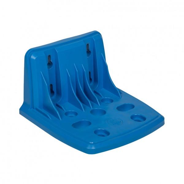 Kunststoff Montageplatte blau für Filtergehäuse BB10' and BB20'