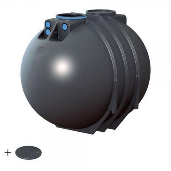 Erdtank BlueLine II 7600 Liter BASIC Deckel TopCover - besonders stabil -