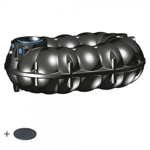 Regenwassertank NEO 5000 Liter BASIC Deckel TopCover 35 Jahre Garantie -