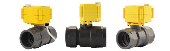 Ventilkörper mit Hochleistungs-Antrieb 1 1/4' * Kunststoff*