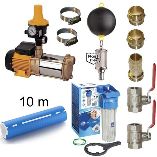 Bewässerungsset ESPA Aspri 15-4 B Kit02 Hauswasserwerk inkl. Zubehör frachtfrei