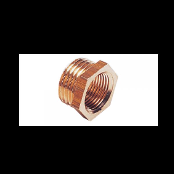 Reduzier-Adapter Messing 1/2 ZollI x 3/4 ZollA
