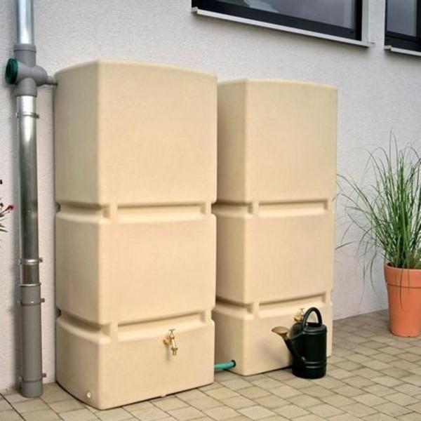 3P Regenspeicher Jumbo 800L sandstein